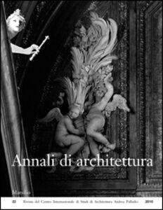 Foto Cover di Annali di architettura (2010), Libro di  edito da Marsilio