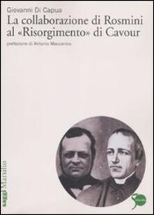 Ipabsantonioabatetrino.it La collaborazione di Rosmini al «Risorgimento» di Cavour Image