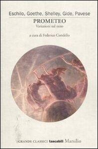 Libro Prometeo. Variazioni sul mito