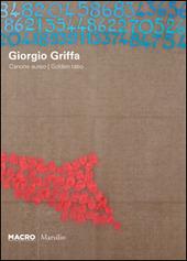 Giorgio Griffa. Canone Aureo