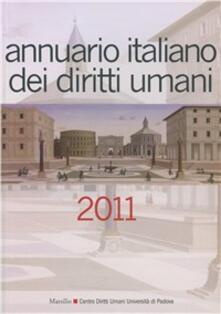 Camfeed.it Annuario italiano dei diritti umani 2011 Image
