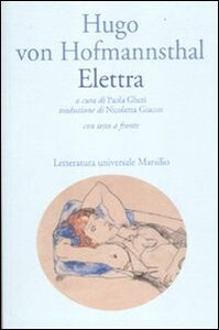 Libro Elettra. Testo tedesco a fronte Hugo von Hofmannsthal