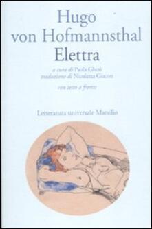 Listadelpopolo.it Elettra. Testo tedesco a fronte Image