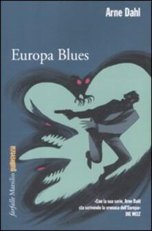 Europa blues - Arne Dahl - copertina