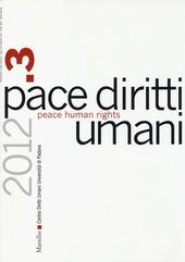 Pace diritti umani-Peace human rights (2012). Vol. 3