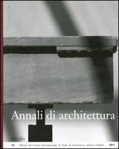 Libro Annali di architettura (2011)