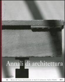 Annali di architettura (2011) - copertina