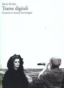 Antondemarirreguera.es Trame digitali. Cinema e nuove tecnologie Image