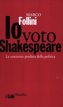 Cefalufilmfestival.it Io voto Shakespeare. La coscienza perduta della politica Image