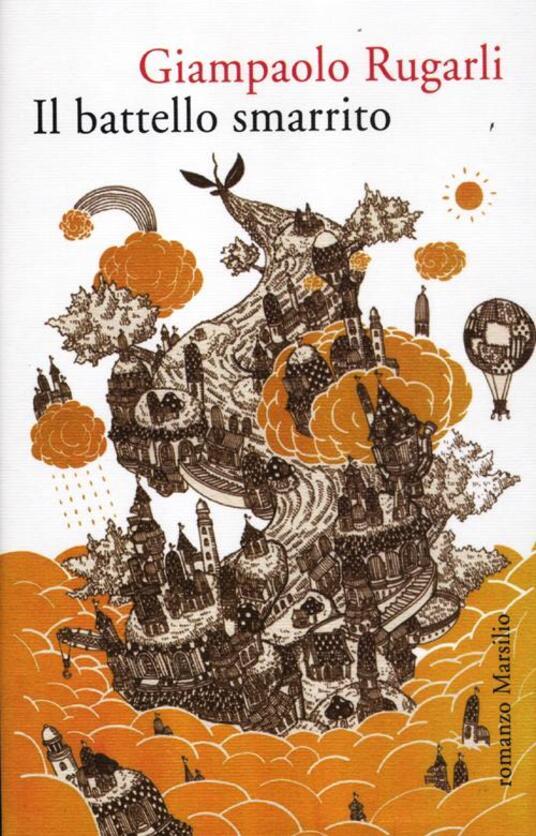 Il battello smarrito - Giampaolo Rugarli - copertina