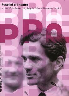 Pasolini e il teatro - copertina