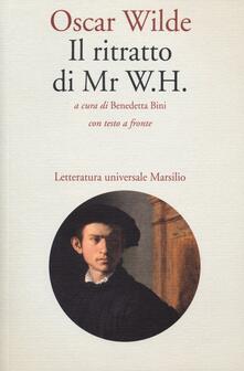 Il ritratto di Mr W. H. Testo inglese a fronte - Oscar Wilde - copertina