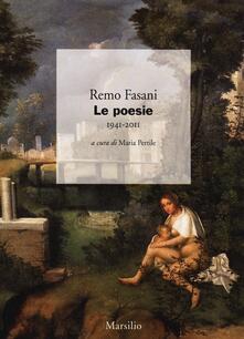 Le poesie 1941-2011 - Remo Fasani - copertina