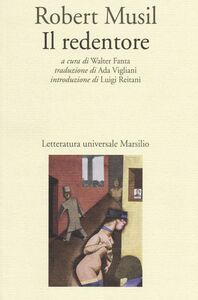 Foto Cover di Il redentore, Libro di Robert Musil, edito da Marsilio