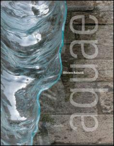 Foto Cover di Oliviero Rainaldi. Aquae, Libro di  edito da Marsilio