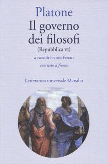 Il governo dei filosofi (Repubblica VI). Testo greco a fronte.pdf