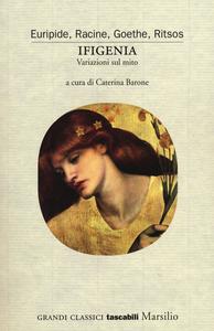 Libro Ifigenia. Variazioni sul mito