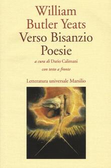 Verso Bisanzio - William Butler Yeats - copertina