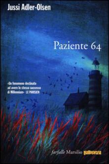 Paziente 64 - Jussi Adler-Olsen - copertina