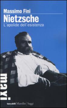 Nietzsche. L'apolide dell'esistenza - Massimo Fini - copertina
