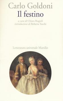 Il festino - Carlo Goldoni - copertina
