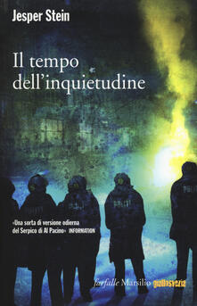 Il tempo dell'inquietudine - Jesper Stein - copertina