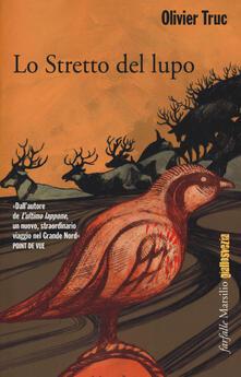 Lo stretto del lupo - Olivier Truc - copertina