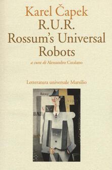 R.U.R. Rossum's Universal Robots - Karel Capek - copertina