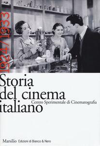 Libro Storia del cinema italiano. Vol. 4: 1924-1933.