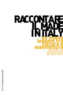 Antondemarirreguera.es Raccontare il Made in Italy. Un nuovo legame tra cultura e manifattura Image