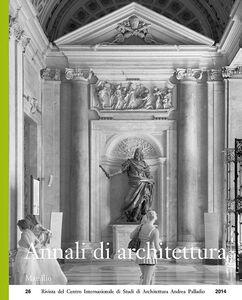 Libro Annali di architettura (2014)