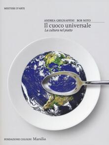 Osteriacasadimare.it Il cuoco universale. La cultura nel piatto. Ediz. illustrata Image