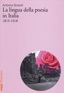 Antondemarirreguera.es La lingua della poesia in Italia 1815-1918 Image