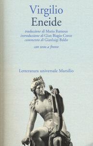Foto Cover di Eneide. Testo latino a fronte, Libro di Publio Virgilio Marone, edito da Marsilio