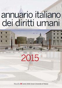 Libro Annuario italiano dei diritti umani 2015