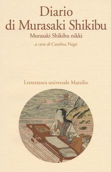 Diario di Murasaki Shikibu. Murasaki Shikibu nikki - Murasaki Shikibu - copertina