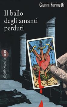 Il ballo degli amanti perduti - Gianni Farinetti - copertina
