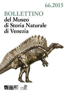 Libro Bollettino del Museo di Storia Naturale di Venezia