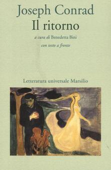 Il ritorno. Testo inglese a fronte - Joseph Conrad - copertina