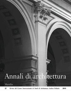 Libro Annali di architettura (2015)