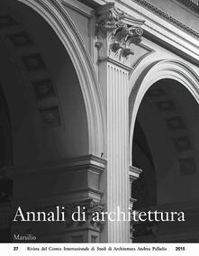 Nicocaradonna.it Annali di architettura (2015) Image