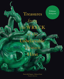 Damien Hirst. Treasures from the Wreck of the Unbelievable. Ediz. francese - copertina