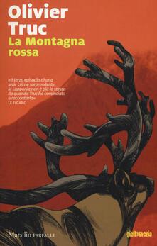La Montagna rossa - Olivier Truc - copertina