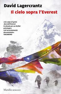 Il cielo sopra l'Everest - David Lagercrantz - copertina