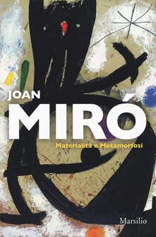 Osteriacasadimare.it Joan Miró. Materialità e metamorfosi. Catalogo della mostra (Padova, 10 marzo-22 luglio 2018). Ediz. italiana e inglese Image