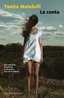 La conta - Tamta Melasvili - copertina