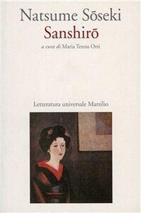 Libro Sanshiro Natsume Soseki