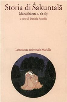 Storia di Sakuntala - Anonimo - copertina