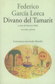 Divano del Tamarit - Federico García Lorca - copertina