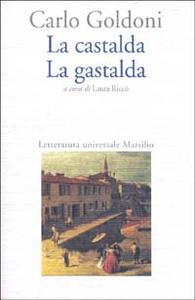 Libro La castalda-La gastalda Carlo Goldoni